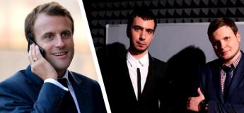 Emmanuel Macron piégé par deux humoristes russes lors d'un canular téléphonique (vidéo)