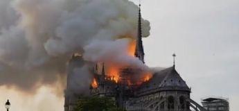Les images de l'incendie de Notre-Dame à Paris (vidéos)