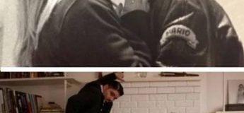 Des couples comparent leurs photos actuelles à leurs photos de lycée