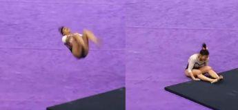 (Vidéo déconseillée pour les sensibles) L'horrible accident de la gymnaste qui s'est cassé les deux jambes