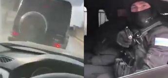 Il a voulu confronter le chauffeur de la voiture qui lui a coupé le chemin mais ça a mal tourné