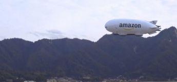 Le dirigeable Amazon déploie son armée de drones livreurs
