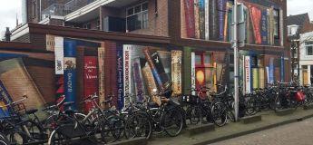 Création d'une impressionnante fresque murale au Pays-Bas