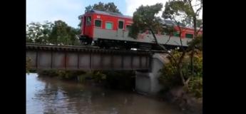 Ce modèle réduit de chemin de fer a l'air tellement réel ! (Vidéo)