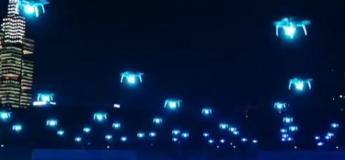 Pour célébrer le «Big Data Expo», la Chine offre un spectacle de lumières en déployant 526 drones