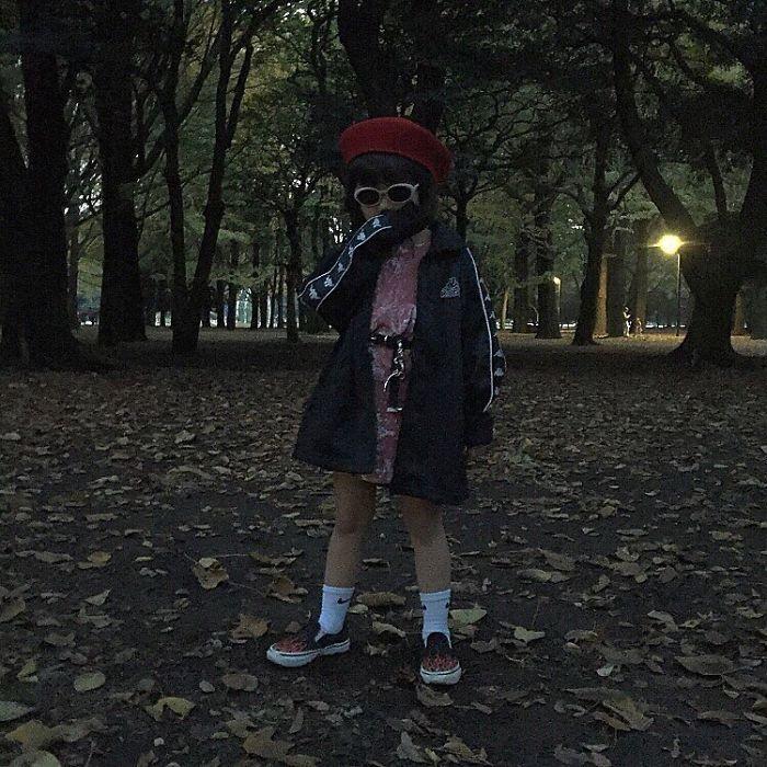 Cette petite japonaise est devenue une sensation de la mode sur Instagram