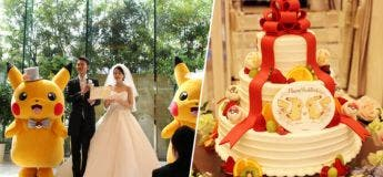 Les mariages en thème Pokémon sont maintenant une tendance au Japon