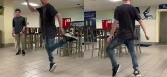 Vous allez être super impressionnés par les incroyables mouvements de danse exécutés par ce garçon