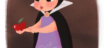 Cette artiste imagine les méchantes de Disney enfants