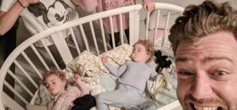 Un papa de 4 filles montre son quotidien de minorité numérique au sein d'une telle famille