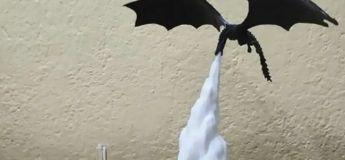 Fin de Game of Thrones : Offrez vous une lampe dragon cracheur de feu !