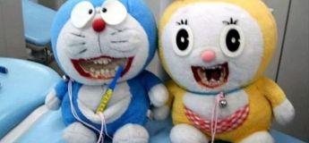 Des jouets éducatifs de dentiste qui sont un peu flippants