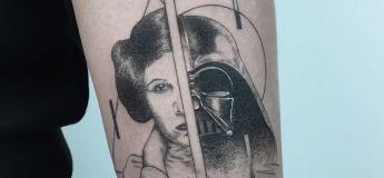 Des tatouages géométriques qui ont marqués la vie de ceux qui les arborent