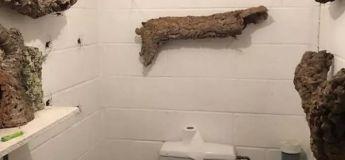Serez-vous capable de rester dans cette salle de bain plus d'une minute ?