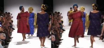 Voici comment on fait les défilés de mode à l'Africaine