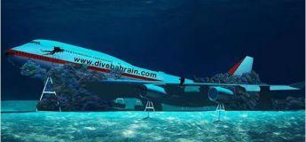 Bahreïn coule un avion pour le parc thématique sous-marin
