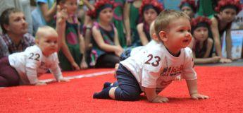 Trop mignon : la Lituanie organise sa course annuelle de bébés à quatre pattes