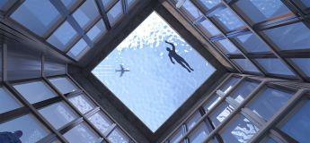 Bientôt une piscine à débordement complètement transparente avec vue à 360°  sur Londres