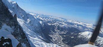 Un avion touristique se pose sans autorisation à 400m sous le sommet du Mont Blanc