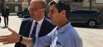 François Ruffin fait la leçon aux ministres à la cour de l'Assemblée Nationale lors de la canicule
