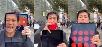 Cet illusionniste vous fera croire que son iPad est magique
