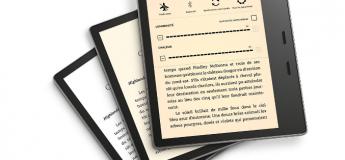 Le nouveau Kindle Oasis avec température d'éclairage réglable et résistant à l'eau déjà disponible à  – de 250 €