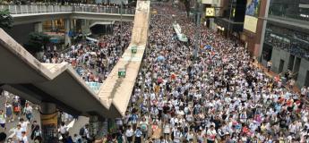 Plus d'un million de personnes dans les rues de Hong-Kong contre un projet de loi