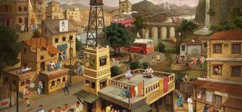 Pouvez-vous repérer les 40 publicités indiennes emblématiques cachées dans ce tableau ?
