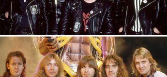 Des photos de groupes mythiques au début de leur carrière et au moment de leur succès