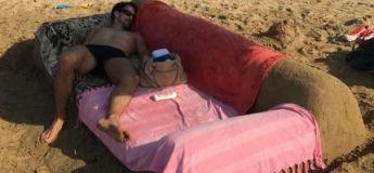 Des photos insolites sur la plage que vous ne risquez pas de voir cet été !