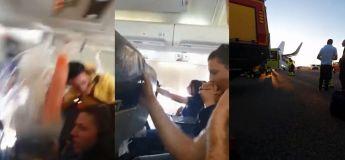Un grand chaos dans un avion causé par de fortes turbulences durant un vol de Serbie à Bâle