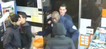Des jeunes braqueurs français sont pris en flagrant délit par la police municipale, la vidéo drôle du jour !
