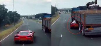Vous n'allez pas croire ce que cette Ferrari a fait pour échapper à la police