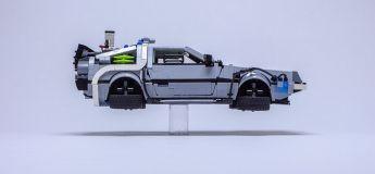 Bluffant, la DeLorean de «Retour vers le futur» reproduite en version LEGO dans les moindres détails