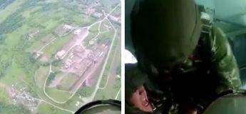 Regardez comment ils gèrent les crises de panique dans les airs (Vidéo)