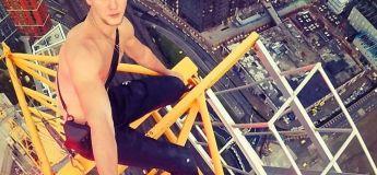 Un homme filmé en train de grimper à mains nues sur le deuxième gratte-ciel le plus haut d'Europe