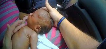 Un policier sauve la vie d'un bébé de 12 jours qui se trouvait dans une voiture qu'il venait d'arrêter