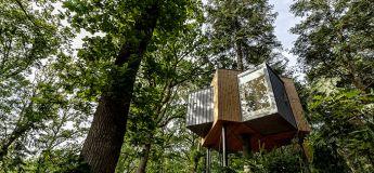 Løvtag, un hôtel construit dans les arbres