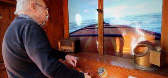 Un bateau interactif dans une maison pour personnes atteintes de démences