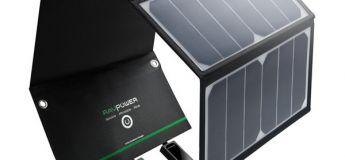 Bon plan Amazon : Une réduction de 30% sur le chargeur panneau solaire 16W ultra léger
