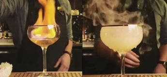 Vous allez être très impressionnés par l'incroyable talent de ce barman