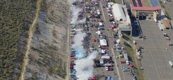La planète ? Fuck it ! 170 véhicules ont réalisé un burn-out simultanément aux US fucking the A