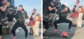 En voilà une danse à en perdre la tête ! (Vidéo)
