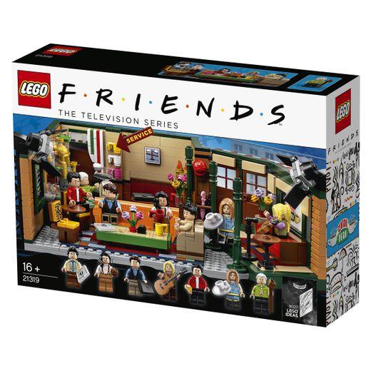 Pour le 25ème anniversaire de Friends, Lego sort un kit avec les héros de la série