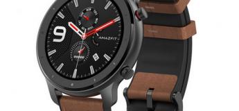La montre connectée Huami Amzfit GTR 42 mm à – de 115 €