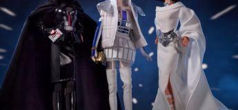 Star Wars : des barbies Leia, R2-D2 et Vador créées par Mattel