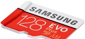 43% de réduction sur la carte mémoire Samsung Micro SDHC UHS-3
