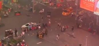 Les bruits d'une moto créent la panique au Times Square