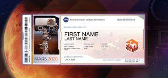 NASA : Vous pouvez envoyer votre nom sur Mars