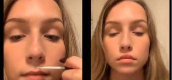 Défi sur TikTok : Les gens collent leurs lèvres pour leur donner un aspect plus riche